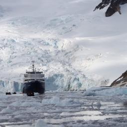 Research Vessel, Antarctica