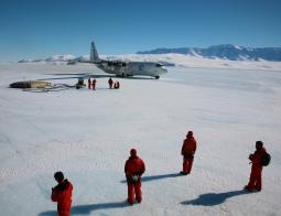 Researchers, Antarctica